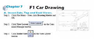 F1 Car Drawing